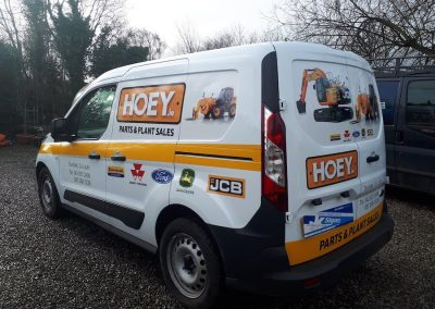 car and van graphics in drogheda from JK Signs